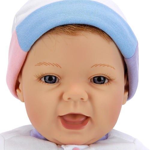 【リーミドルトン】新生児 Sweet Baby ストロベリー ブロンドヘアー/青色の目/赤ちゃん人形/ベビードール