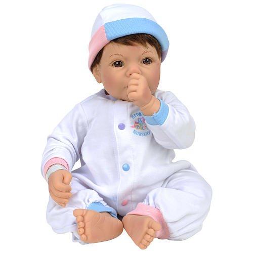 【リーミドルトン】Nursery Baby Cuddle Me 茶色の髪/茶色の目 #1381/赤ちゃん人形/ベビードール