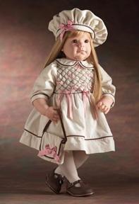 【リーミドルトン】アーティストスタジオコレクション 'Little Miss Proper' /赤ちゃん人形/ベビードール
