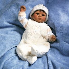 【リーミドルトン】1987 Fuzzy Bunny Doll/赤ちゃん人形/ベビードール