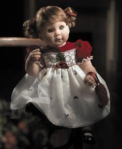 【リーミドルトン】2401 Holly Doll/赤ちゃん人形/ベビードール