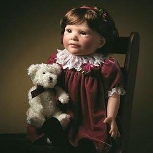 【リーミドルトン】Dolls 2045 Vintage Rose/赤ちゃん人形/ベビードール