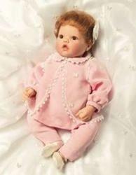【リーミドルトン】Pink Butterfly Dreams Baby Doll/赤ちゃん人形/ベビードール