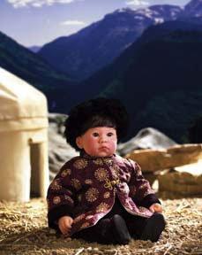 【リーミドルトン】Mongolia By #1350/赤ちゃん人形/ベビードール