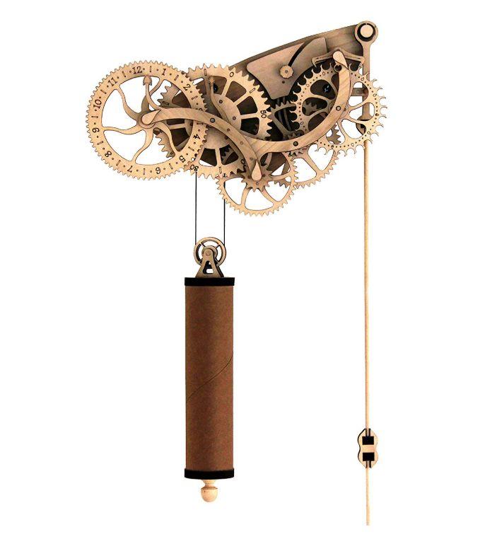 品多く Wooden Kit Mechanical Clock Wooden Clock Kit 木製の機械時計キット, 木造町:7d4321c6 --- fabricadecultura.org.br