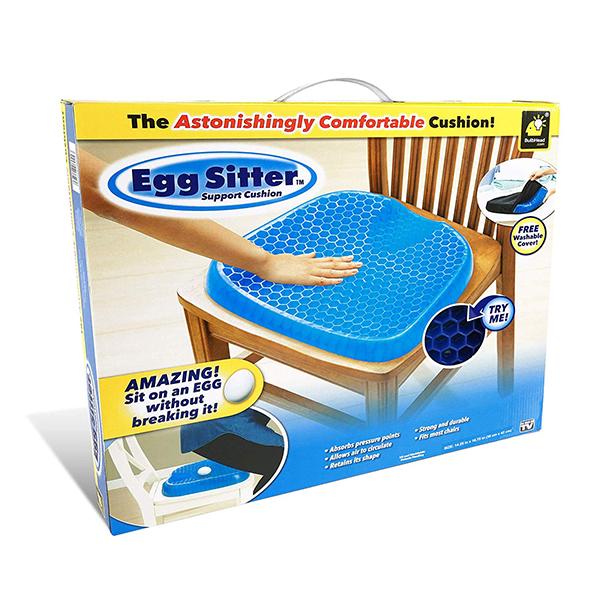 エッグシッター Egg Sitter 卵を置いて座っても割れない吸収性のクッション 腰痛サポート エッグシッター BulbHead社
