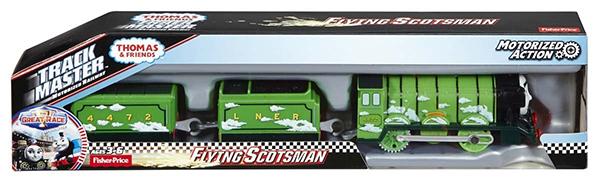 TRACK MASTER きかんしゃトーマスとなかまたち フライングスコッツマン Flying Scotsman プラレール Fisher-Price