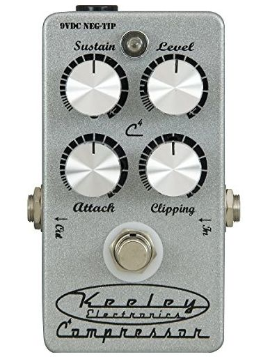 Electronics Keeley コンプ 4KNOB キーリー SILVER COMPRESSOR
