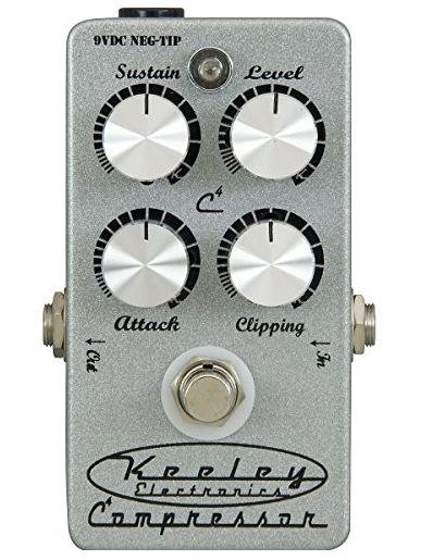 Keeley Electronics COMPRESSOR 4KNOB SILVER キーリー コンプ