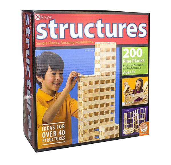 MindWare KEVA Structures 200個セット 積み木