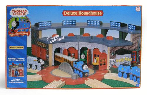 きかんしゃトーマス木製レールシリーズ デラックス操車場(3歳から)