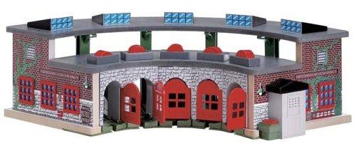 ラーニングカーブ きかんしゃトーマス 木製レール デラックス操車場