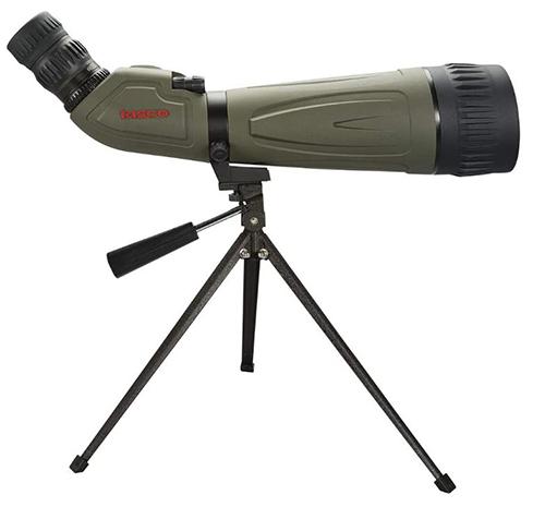 ワールドクラスの本格スコープ!Tasco単眼鏡、防水加工 20-60倍率 レンズ80mm・三脚付き