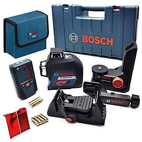 Bosch 3次元 360度 レベリング アラインメント レーザー ラインレーザーレシーバー 受光器 GLL 3-80 LR6