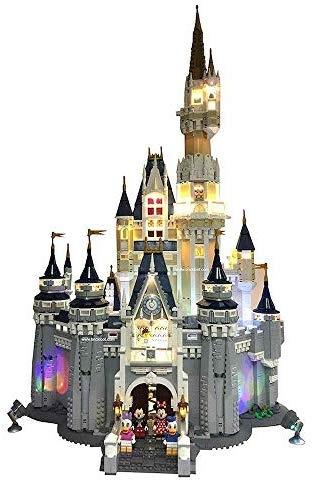 レゴ(LEGO)ディズニー シンデレラ城 (71040) 用 電飾ライトキット Deluxe Lighting Kit for Your Lego