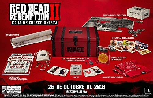 Red Dead Redemption 2 Collector's Box レッドデッドリデンプション2コレクターズボックス