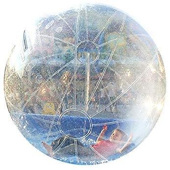 Hewflitウォーターバルーン 水の上を歩けるボール ウォーター 直径2m 水上散歩 遊具 夏 海
