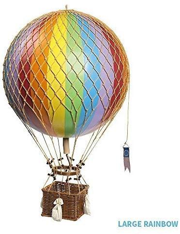 エアバルーン・モビール 気球 Royal Aero Balloon 約30cmバルーン (レインボー)