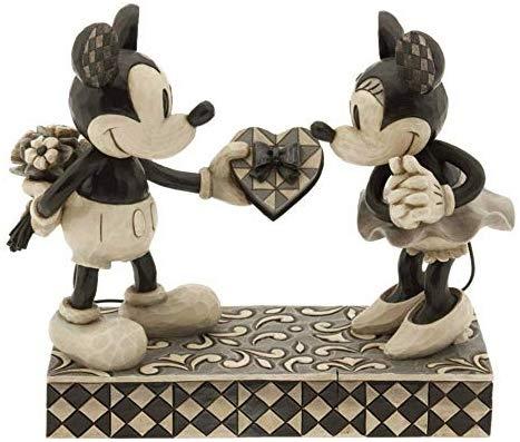 ディズニー(Disney) ミッキーマウス ミニーマウス 置物 フィギュア 人形 ジムショア バレンタイン