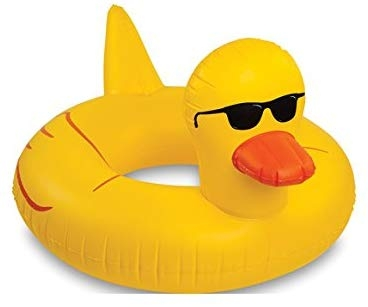 あひる アヒル フロート ボート 特大サイズ おもしろい 浮き輪 海 プール おもちゃ グッズ