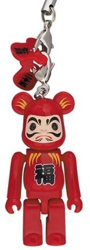 Tokyo Solamachi X Happy Be@rbrick Earphone Jack Tumbling Doll Bearbrick(red) 70%
