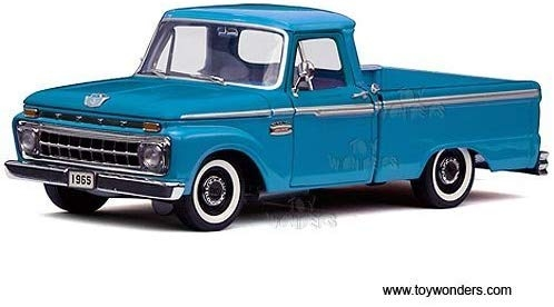 1289bu Sun Star Usa - ford フォード F-100 Custom Cab Pickup (1965 1:18 Marlin blue