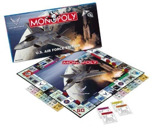 Usaopoly Air Force Monopoly by USAopoly [Toy]