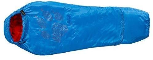 Jack Wolfskin Kids Grow Up Sleeping Bag Brilliant Blue 【You&Me】