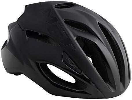 MET(メット) Rivale リヴァーレ HES ロードバイクヘルメット (black L)