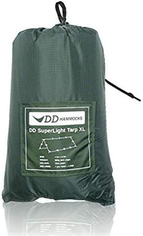 DDタープ DD Super Light - Tarp XL - Olive Green スーパーライトタープXL - オリーブグリーン