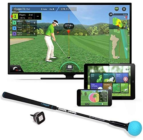 PhiGolf(ファイゴルフ) WGT Edition スイングトレーナー付き モバイルゴルフゲームシミュレーター PHG-10
