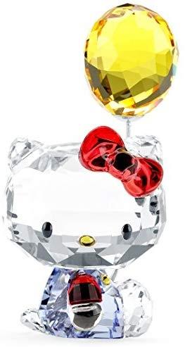 スワロフスキー SWAROVSKI クリスタル フィギュア ハローキティ バルーン Hello Kitty Balloon 5301578