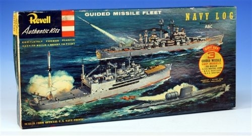 00333 '56 Guided Missle Ship Set