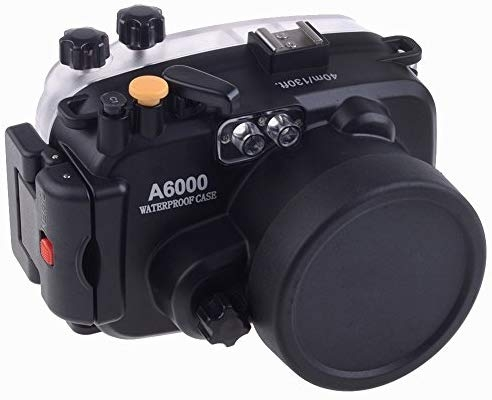 Meikon 40M 防水ハウジングケース for Sony A6000 Camera compatibale with 16-50mm lens