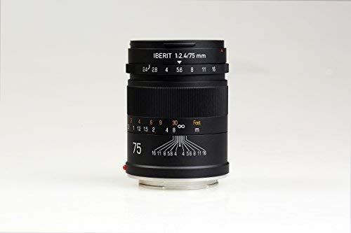 Handevision IBERIT 75mm f/2.4 Lens for SONY E(Frosted Black)