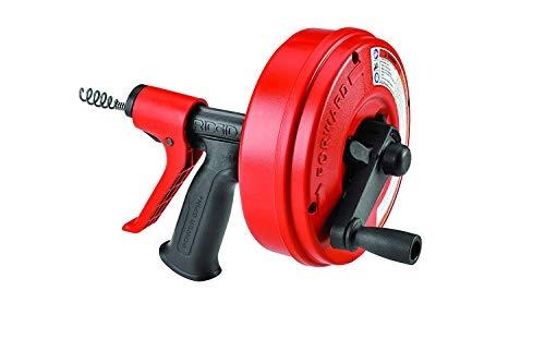 Ridgid Drain Cleaner Power Spin+with Autofeed リジッド ドレン クリーナー 57043 Ridgid Drain