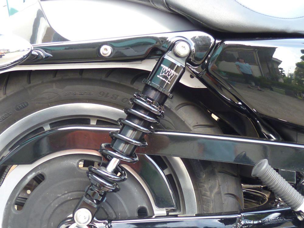 HD ハーレー XL1200L スポーツスター ロー スーパーロー  アジャスタブルサスペンション
