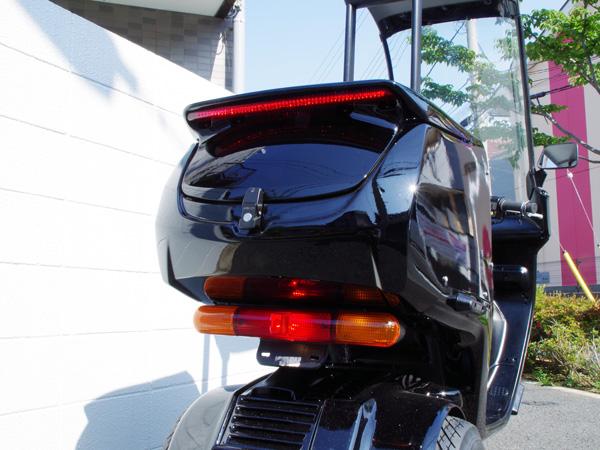 ジャイロキャノピー用 リアボックス jcb-01 LEDハイマウント付き