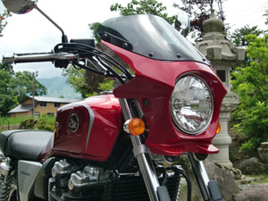 CB1100 ビキニカウル タイプRスクリーン 純正色塗装 ABS製 ボルト付