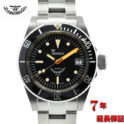 スクワーレ|Squale/時計/1545 Ferrovia Ceramic/200M防水/オートマチック/スイスメイド/ダイバーズ/ブラック/セラミックべゼル