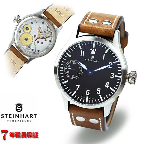 スタインハート/Steinhart/腕時計/エヌエービー/Nav B-Uhr 44mm Handwind/メンズ/スイスメイド/機械式手巻き