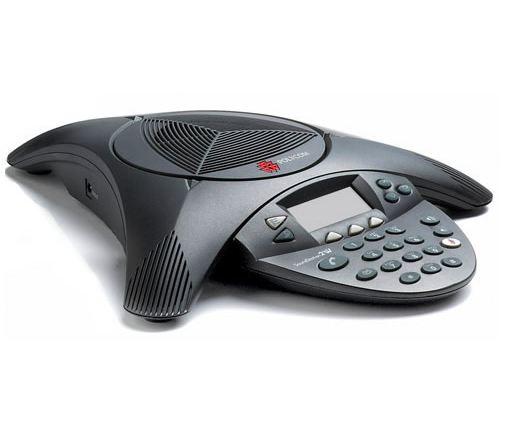Polycom SoundStation 2 EX 拡張マイク対応モデル 会議システム