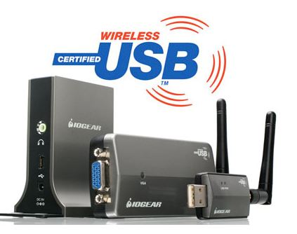 IOGear Wireless Audio/Video Kit– PC To TV ワイヤレスUSB VGAアダプター