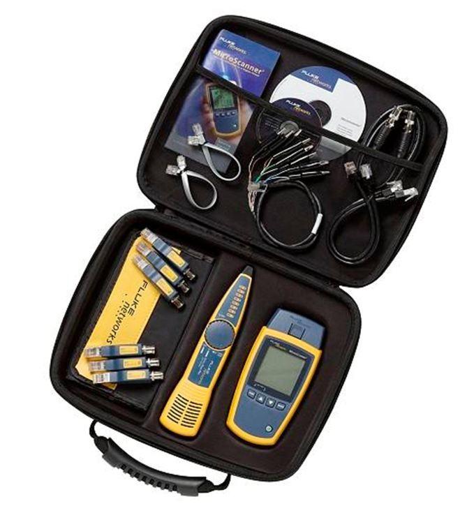 Fluke Networks MS2-KIT MicroScanner2 Professional Kit