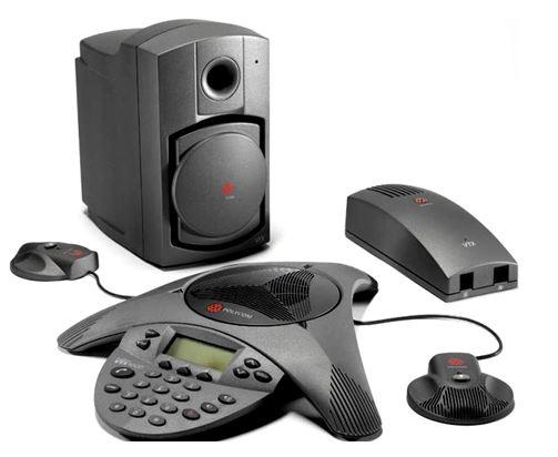 Polycom SoundStation VTX 1000  会議システム + 拡張マイク/サブウーファパック
