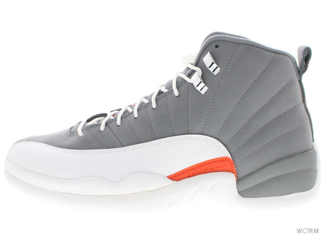 new concept 51d1f 8397c AIR JORDAN 12 RETRO 130,690-012 cool grey/white-team orange Air Jordan  retro-free article