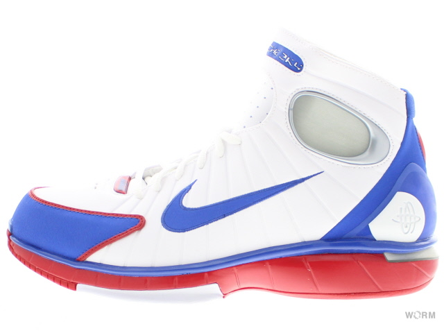 on sale 9bd0a 5e517 NIKE AIR ZOOM HUARACHE 2K4 308,475-100 white/gm ryl-sprt rd-mtllc slv  ナイキエアズームハラチ-free article