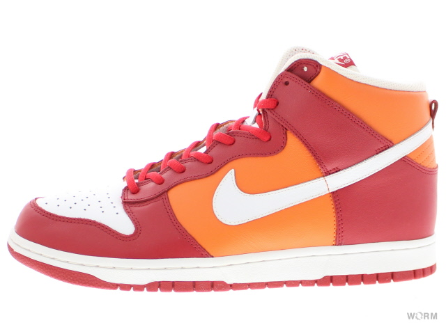 outlet store 77015 f276a NIKE DUNK HIGH 309,432-612 varsity red/white-orange blaze Nike dunk  high-free article