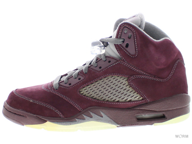 41fb727feca69a AIR JORDAN 5 RETRO LS 314259-602 deep burgundy-lt graphte-silvr Air Jordan 5  unread items