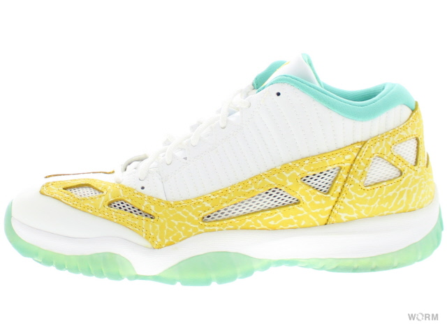 online store 55c27 6fd21 AIR JORDAN 11 RETRO LOW LS 316,319-171 white varsity maize-azure Air Jordan  nostalgic low-free article